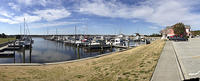 Pano of the marina